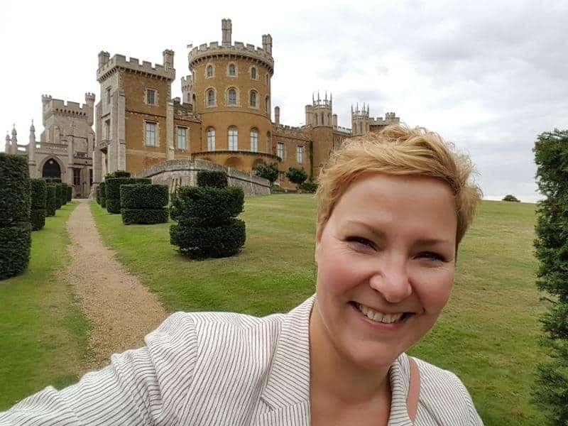 Castle Belvoir in Großbritannien